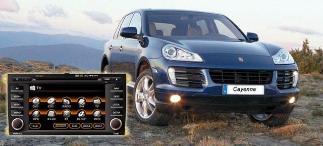 Porsche Cayenne E8013NAVI «Fly Audio»