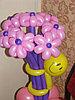 Цветок из шарика в Павлодаре