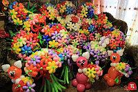 Цветы из шариков в Павлодаре, фото 1
