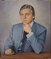 Мужской портрет на заказ,написанный маслом. Итальянец.