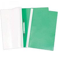 Скоросшиватель пластиковый OfficeSpace 120 мкм зеленый