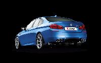 Титановая выхлопная система AKRAPOVIC на BMW M5 F10, фото 1