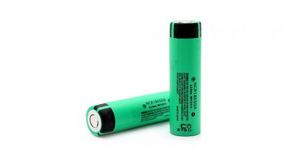 Аккумулятор Panasonic 18650  3,7v 2600mAh NCR18650A LiIon б/защиты