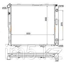 Радиатор MERCEDES E-CLASS W124 85-95