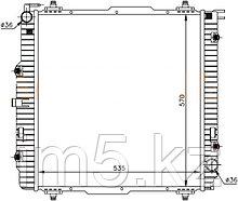 Радиатор MERCEDES G-CLASS W463 92-(дизель)