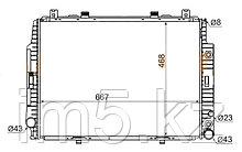 Радиатор MERCEDES S-CLASS W140 91-98