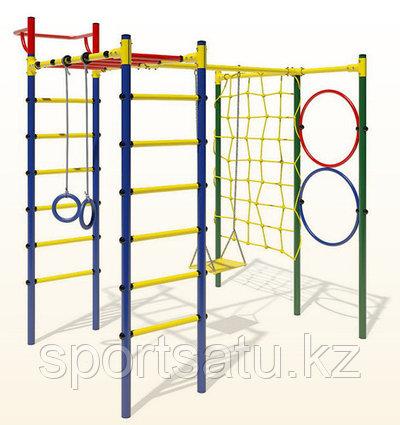 Детский спортивный комплекс 1,65м качели+сетка