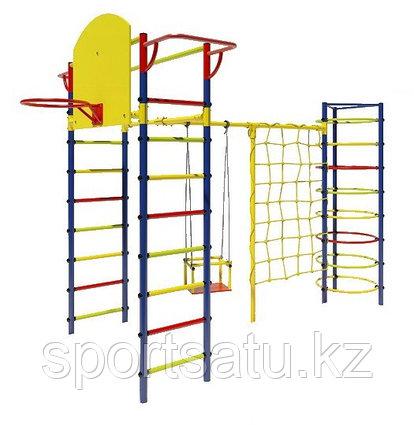 Детский спортивный комплекс 2м качели+сетка