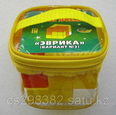 Кубики для всех Эврика (в сумочке) (Корвет) 0524