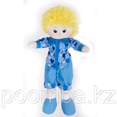 Gulliver Кукла-мальчик в голубой рубашке, 50 см