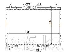 Радиатор  NISSAN TIIDA C11 04-14