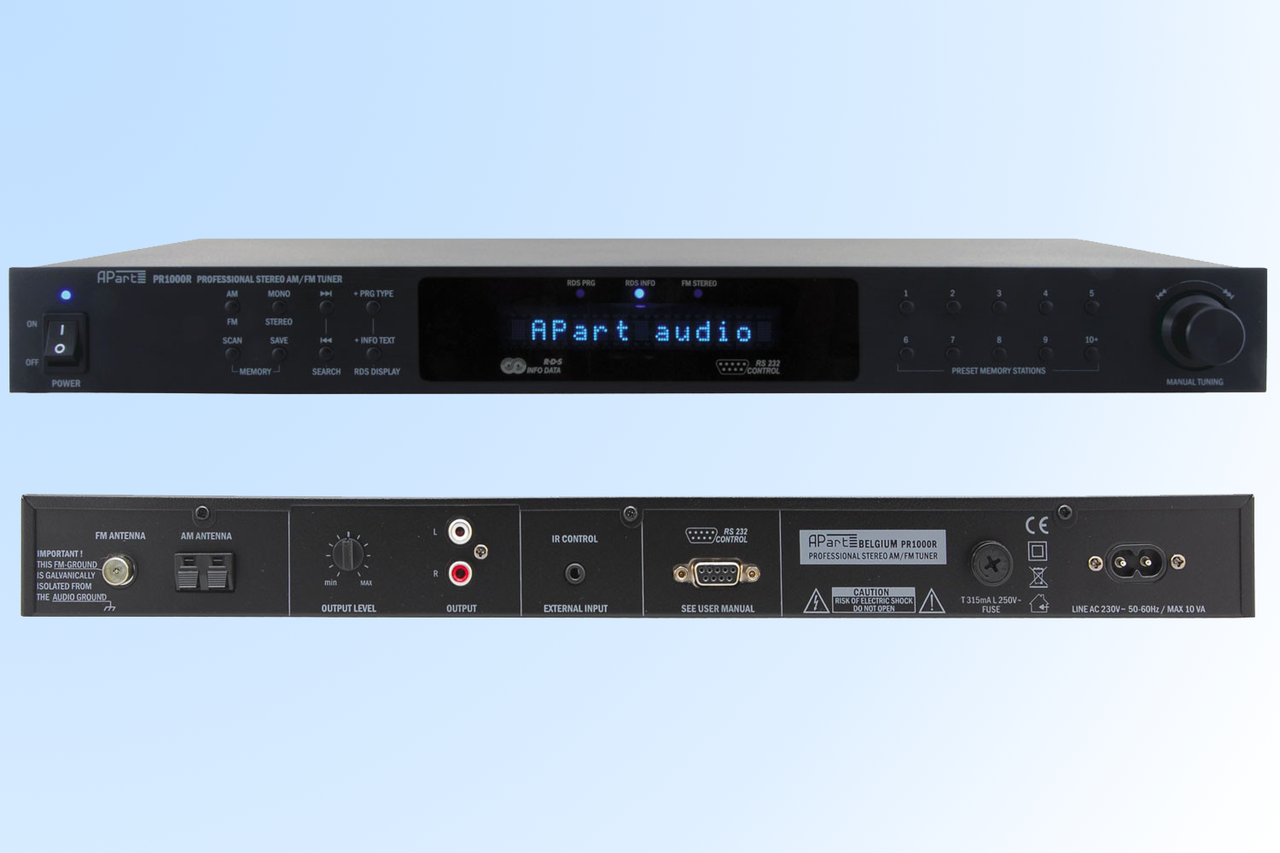 Тюнер FM/AM APART PR1000R