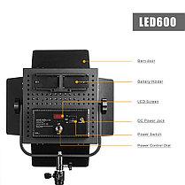 Светодиодная (LED) панель для фото / видео Pergear LED 576 (3 осветителя), фото 3