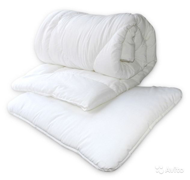Одеяла, подушки, простыни, бортики