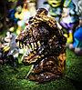 """Декоративная садовая фигурка """"Голова динозавра"""",52см"""