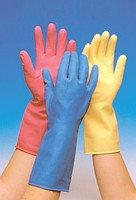 Перчатки гелевые резиновые 1*10