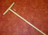 Швабра с деревянным черенком