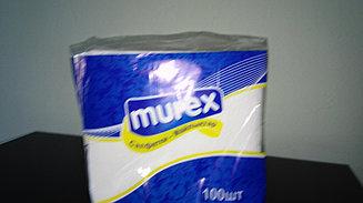 Салфетки Murex настольные бытовые 100 шт