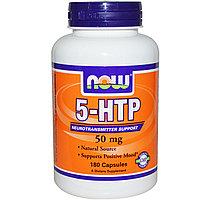 Гриффония 5-HTP, 50 мг, 180 капсул. Now Foods, фото 1