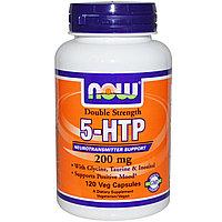 Гриффония (5-HTP), двойная сила, 200 мг, 120 капсул в растительной оболочке. Now Foods