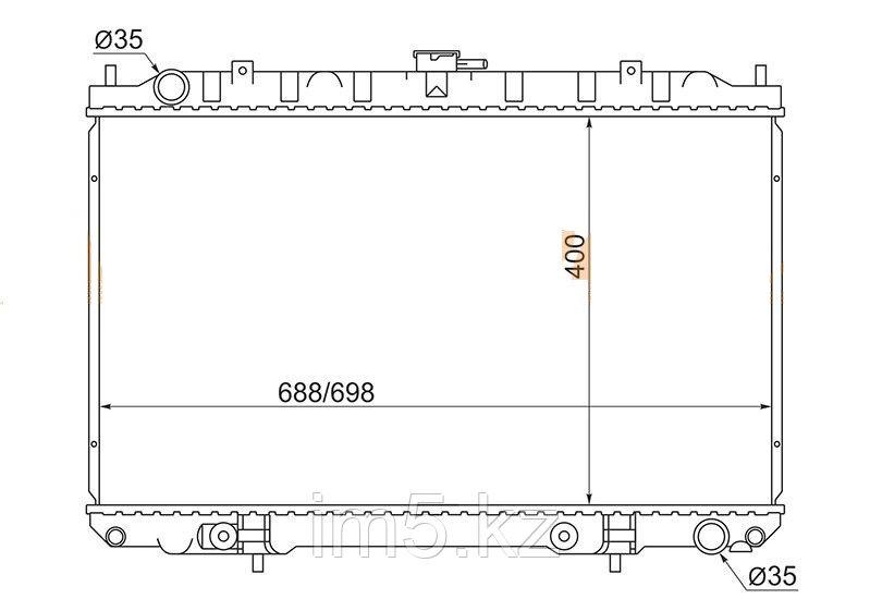 Радиатор NISSAN CEFIRO/MAXIMA A33 98-03