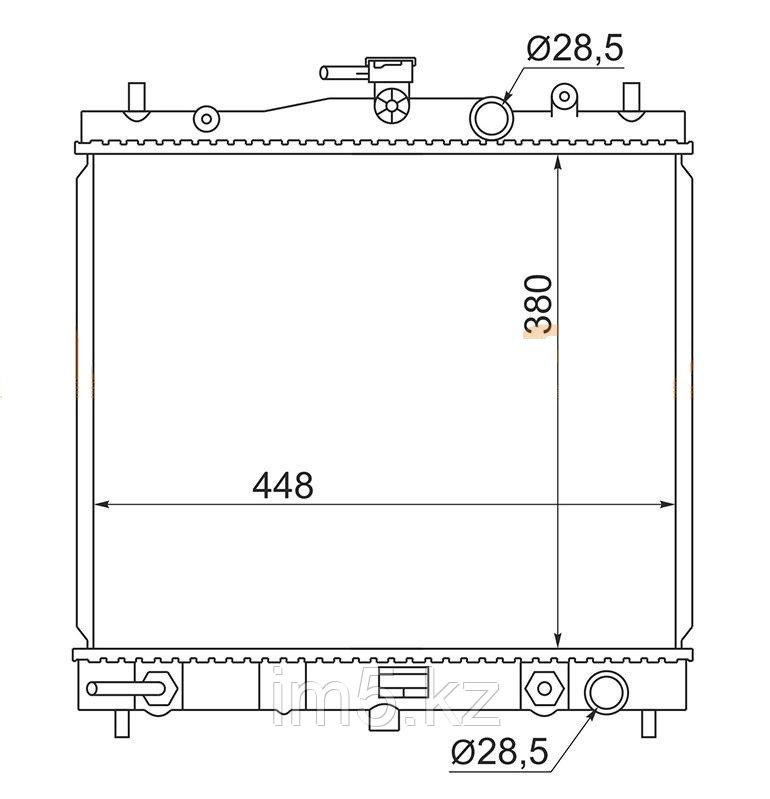 Радиатор  NISSAN NOTE E11 05-