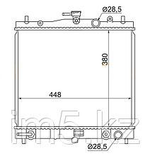 Радиатор  NISSAN MARCH/MICRA K12 02-10