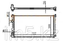 Радиатор RENAULT MASTER 97-10