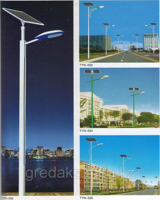 Светодиодный уличный фонарь на солнечных батареях