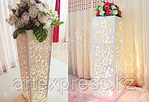 Свадебные резные стойки свадьба стенд из светодиодов