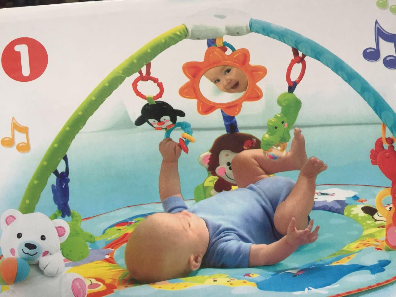 """Развивающий детский коврик """"Умный малыш"""" - фото 1"""