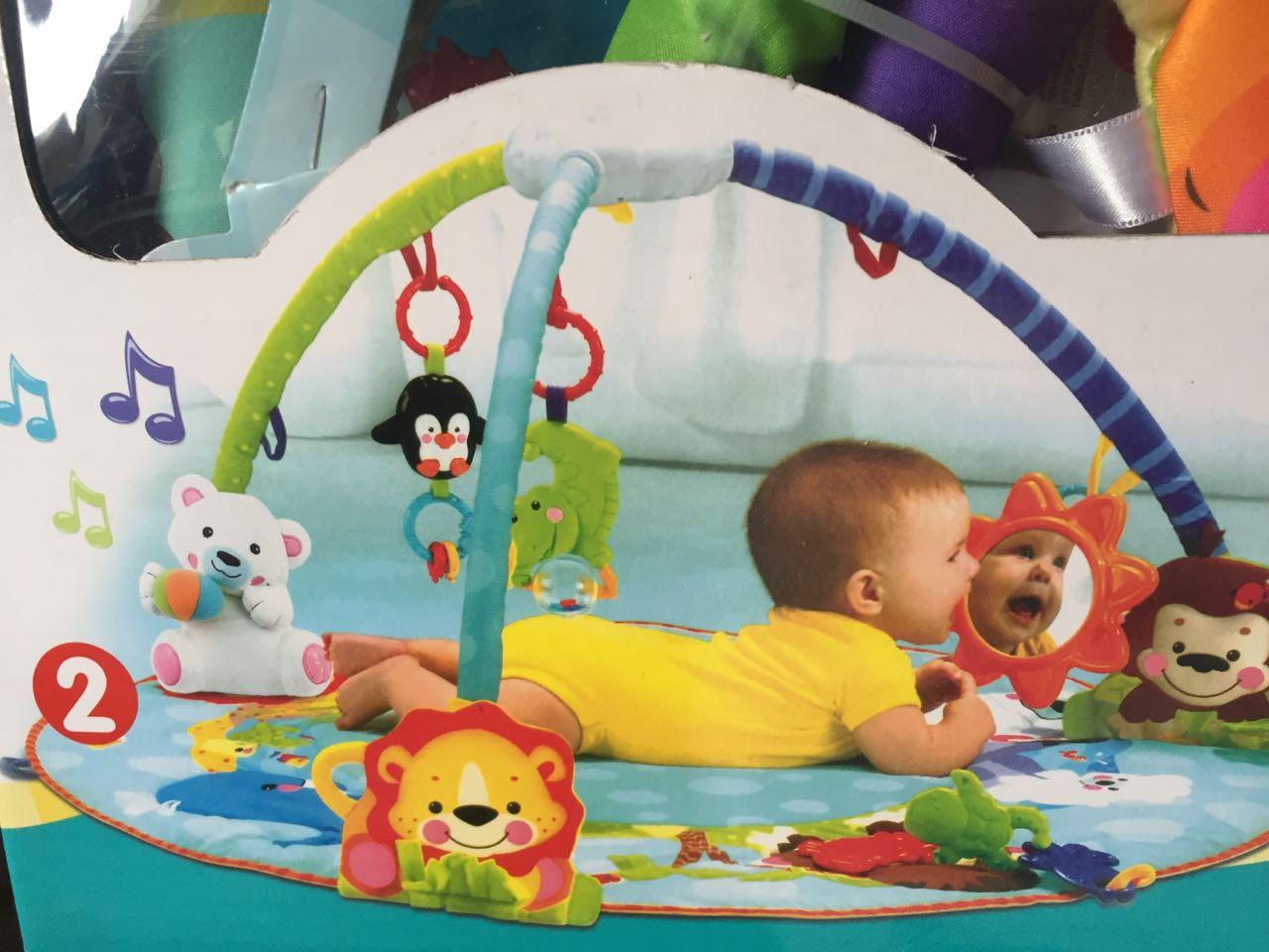 """Развивающий детский коврик """"Умный малыш"""" - фото 2"""