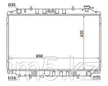Радиатор  NISSAN LARGO #W30 93-99(дизель)