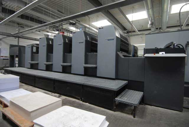 Heidelberg SM 74-4+L б/у 2008г - 4-х красочная печатная машина
