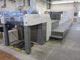Komori Lithrone 529+LX б/у 2006г - пятикрасочная (+лак) печатная машина
