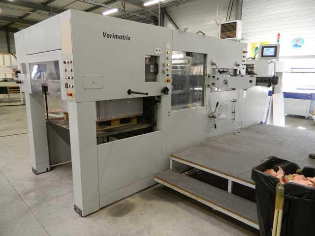 Heidelberg Varimatrix 105 CS  б/у 2008г - автоматический штанц-пресс