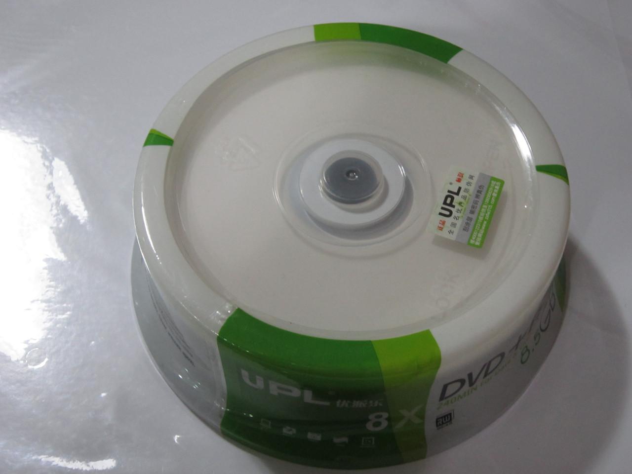 Диск DVD-R  Printable UPL 8,5 GB, Алматы