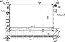 Радиатор   OPEL ASTRA F 91-98