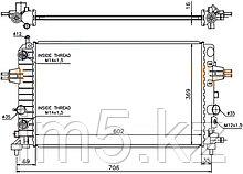 Радиатор   OPEL ASTRA H 04-10