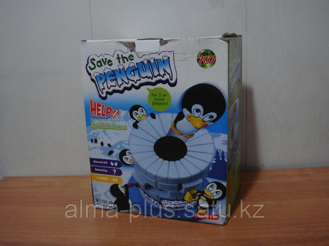 Игра. Спасти пингвина