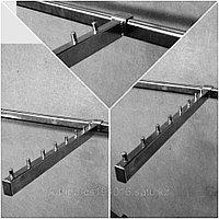 Кронштейн на оборудование / квадратные трубы/ для одежды новинка квадратный дизайн 9 штырей