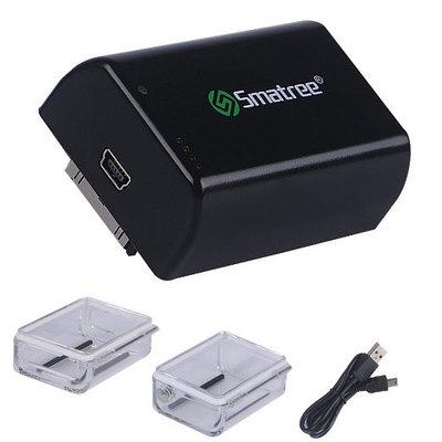 Дополнительный (Bacpac) аккумулятор Smatree® BJ-A для GoPro HERO 4/3+/3 на 2500mAh