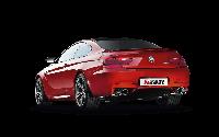 Титановая выхлопная система AKRAPOVIC на BMW M6 F12 F13