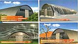 Строительство самонесущих арочных ангаров, зданий и сооружений из легких металлоконструкций, фото 3