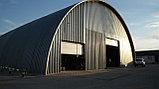 Строительство самонесущих арочных ангаров, зданий и сооружений из легких металлоконструкций, фото 2