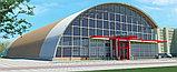 Бескаркасные арочные здания из гальванизированной стали, фото 2