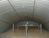 Бескаркасные арочные здания из гальванизированной стали, фото 3