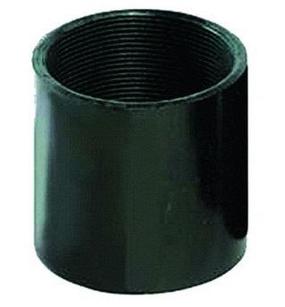 Втулка соединительная М40, цвет цёрный