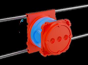 Универсальная установочная коробка для заливки в бетон,90х71,h74