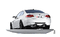 Титановая выхлопная система AKRAPOVIC Evolution Line на BMW E92 M3, фото 1